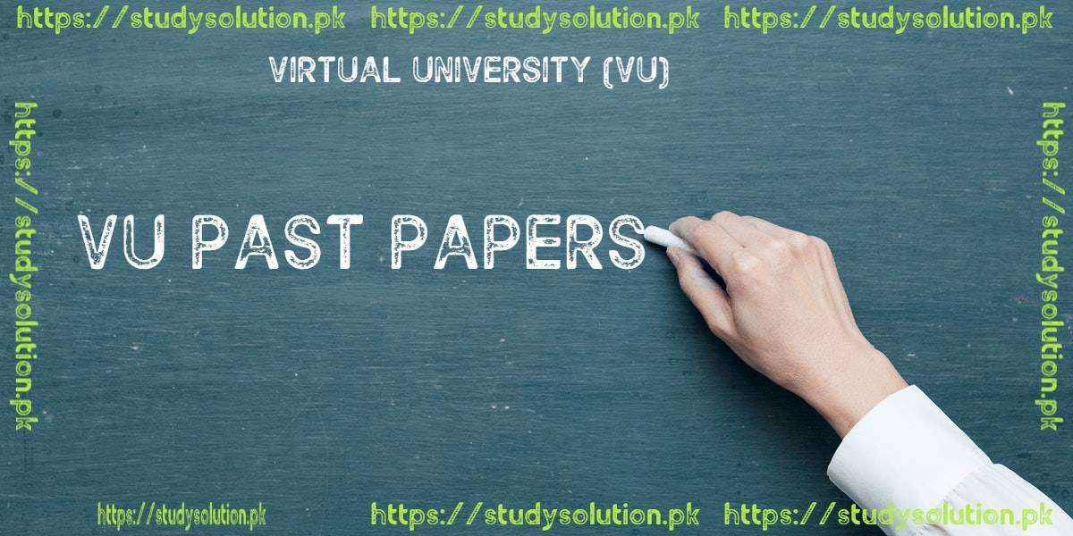 VU Past Papers