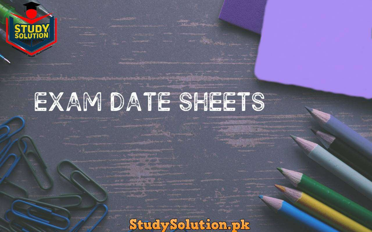 Date Sheets