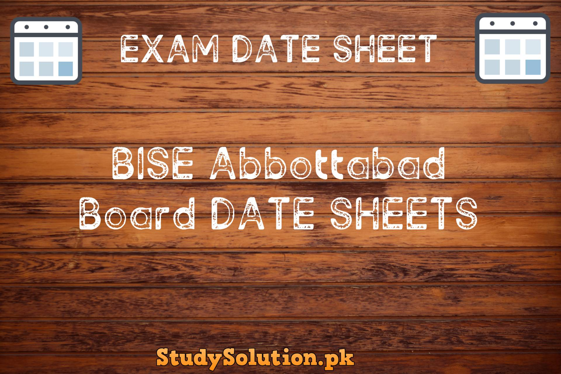 BISE Abbottabad Date Sheets