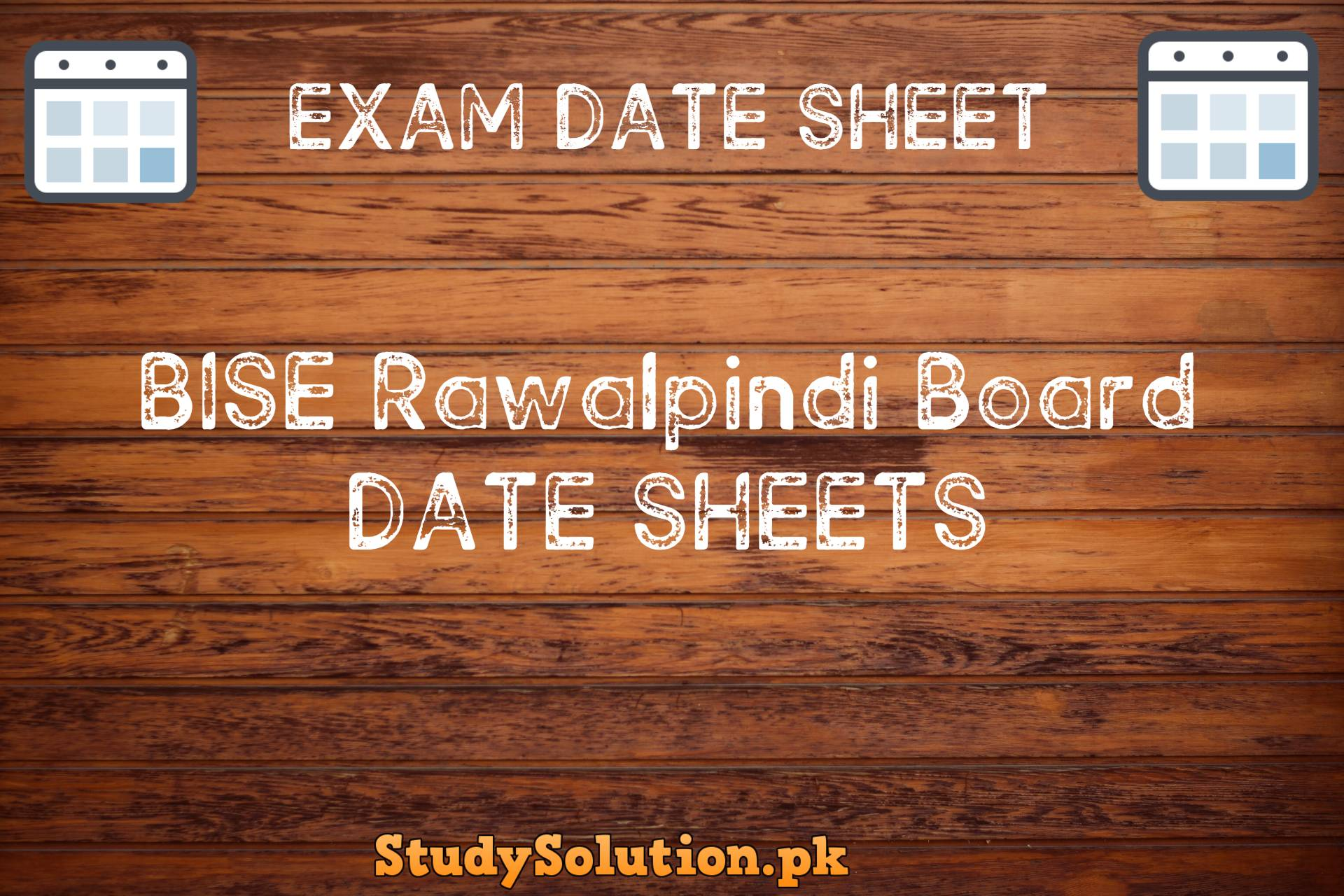 BISE Rawalpindi Date Sheets