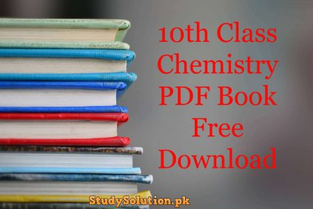 10th Class Chemistry PDF Book Free Download