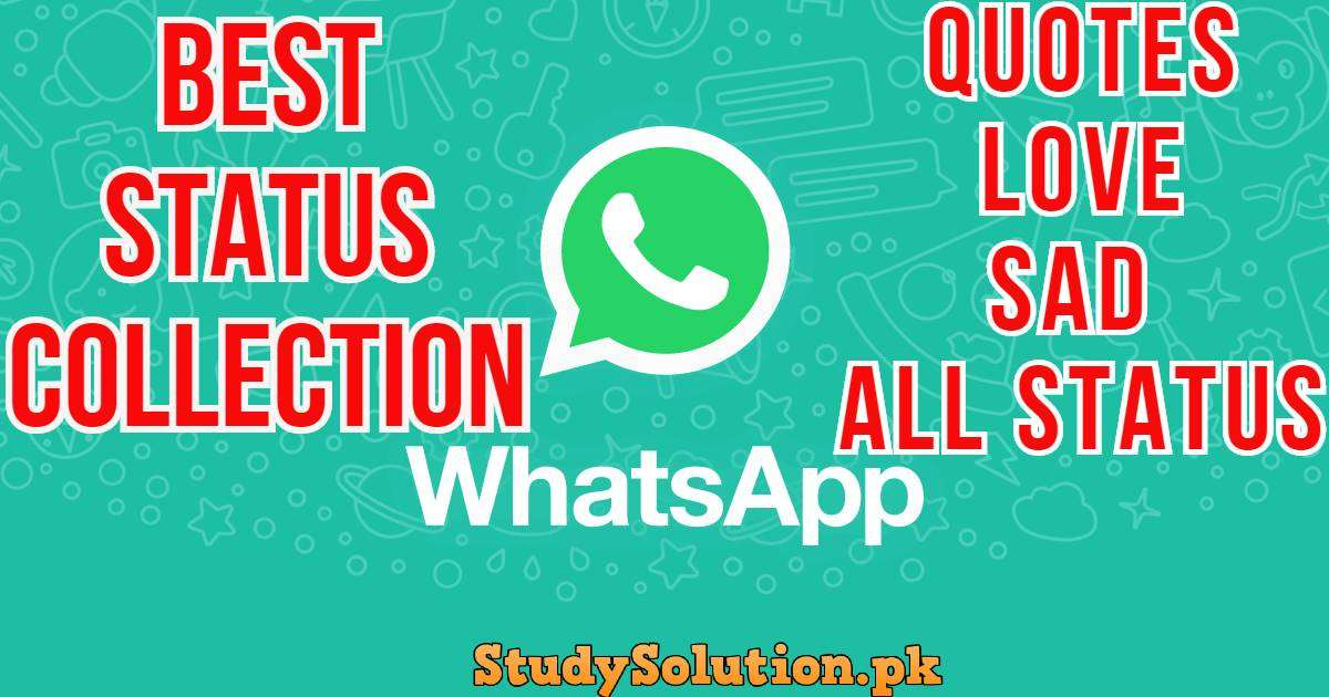 Best Status Collection Of Whatsapp Latest