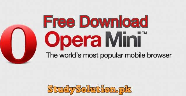 Free Download Opera Mini Fast Web Browser