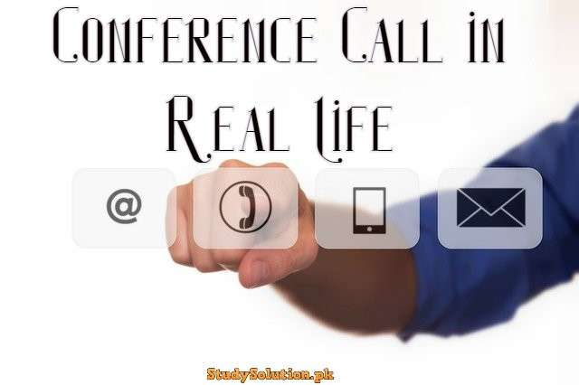 Conference Call in Real Life